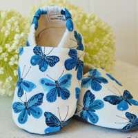 "Organic ""Butterfly"" Shoes - NB to 4T"
