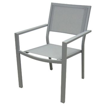 Threshold™ Afton Stack Sling Patio Chair Slate