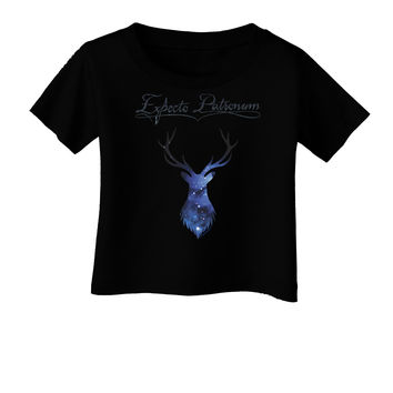Expecto Patronum Space Stag Infant T-Shirt Dark