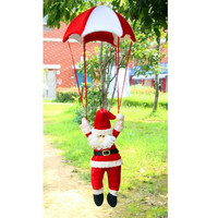 Christmas Santa Doll Parachute Hanging Decoration = 1946424964