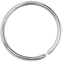 "20 Gauge 3/8"" Annealed Stainless Steel Seamless Circular Ring 