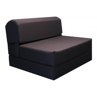 Tri-fold Brown 70-inch Foam Chair Bed | Overstock.com