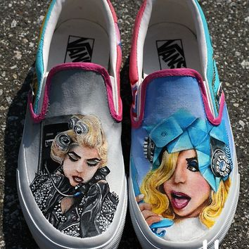 MADE TO ORDER (Any Size) Lady Gaga Telephone Shoes