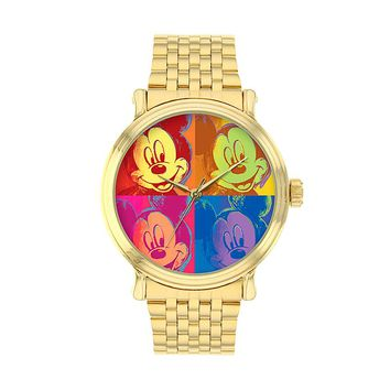 Disney Men's Mickey Mouse Watch (Yellow)