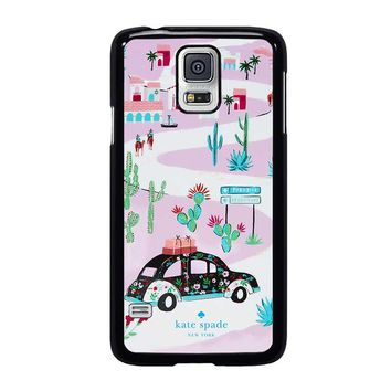 KATE SPADE NEW YORK ROAD TRIP Samsung Galaxy S5 Case Cover
