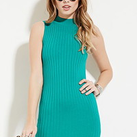 Mock Neck Bodycon Mini Dress