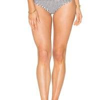 Montce Swim High Rise Bottom in Gingham | REVOLVE