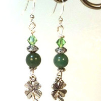 Clover Earrings - LinorStore Jewelry & Kippah