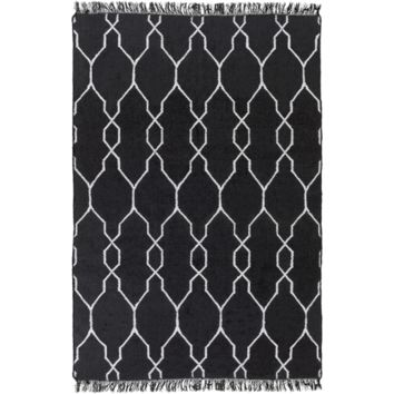 Kesey Rug ~ Black & White