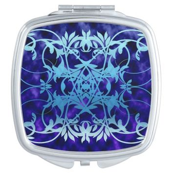 Blue Gate Compact Mirror