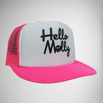 'Hello Molly' Trucker Hat
