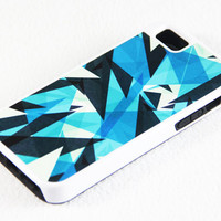 Modern Vibrant Pattern iPhone 5 + 4S + 4 + 5C + 5S Tough Rubber and Soft Case, iPod 5 + 4 Case