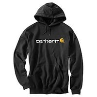 NEW Carhartt Signature Logo Midweight Sweatshirt for Men