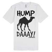 What day is it woo hoo Hump Day tshirt t shirt tee-White T-Shirt