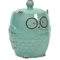 Hoot Owl Cookie Jar