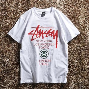 Stussy Fashion Casual Shirt Top Tee-2