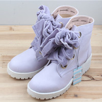 Japanese velvet bandage boots free shipping sold by HIMI'Store