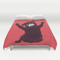 Hug Duvet Cover by Huebucket