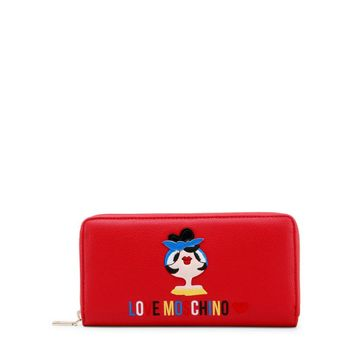 Love Moschino Women Red Wallets