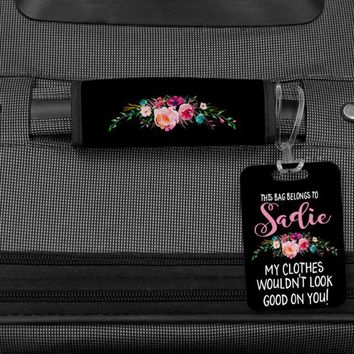Funny Luggage Tag, Custom Luggage Tags, Luggage Handle Wrap, Bag Tags for luggage, Luggage Finder, Personalized Bag Tag, Funny bag tag