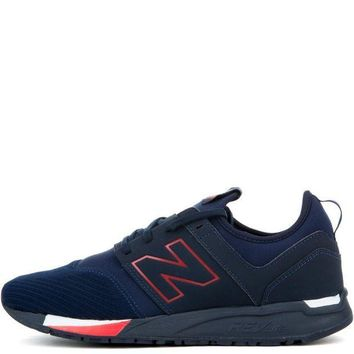 PEAPNV new balance 247 classic navy with red men s sneaker