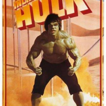 Incredible Hulk The poster Metal Sign Wall Art 8in x 12in