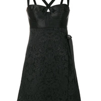 Dolce & Gabbana Bustier Jacquard Dress - Farfetch