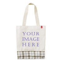 Create Your Own custom Zazzle HEART Tote Bag