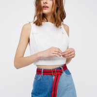 Free People Good Sport Webbed Belt
