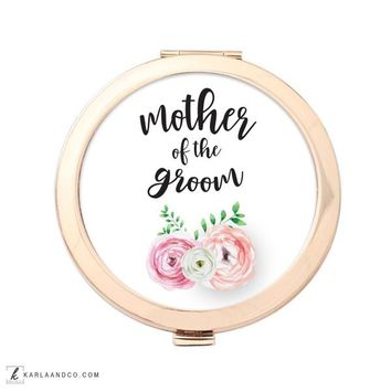 Mother of the Groom Wedding Compact Mirror