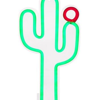 Sunnylife Australia Small Cactus Shaped Neon Wall Light