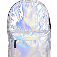 Cyber Holographic Backpack