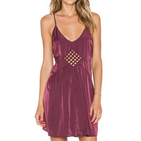 AMUSE SOCIETY Lake Dress in Deep Orchid