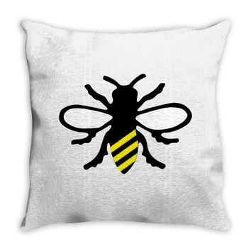 131. bee 038 Throw Pillow