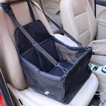Pet Carriers Waterproof PVC Folding Car Storage
