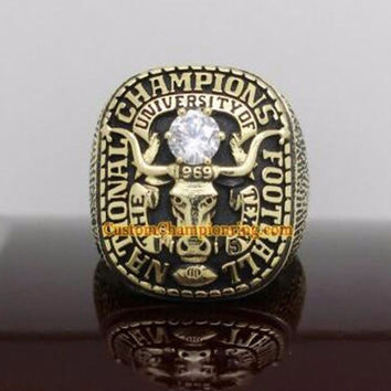 Promotion Bottom Price for Replica est Design 1969 Texas Longhorns National Championship Ring B