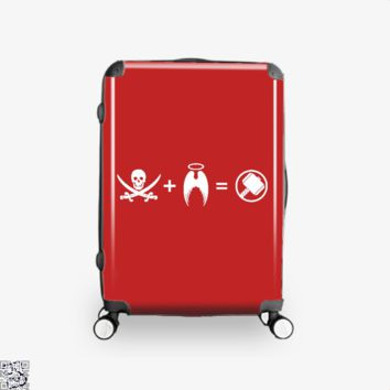 It's Like A Pirate Had A Baby With An Angel, Avengers Infinity War Suitcase