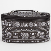 Tribal Elephant Cosmetics Case Black One Size For Women 24479610001