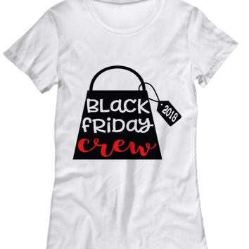 Black Friday Crew Shirt for Women Men