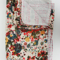 Floral Perfection - Queen Bed Cover
