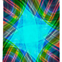 Colorful Kaleidoscope created by trilogy-anonymous | Print All Over Me
