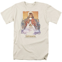 LABYRINTH/MOVIE POSTER - S/S ADULT 18/1 - CREAM -