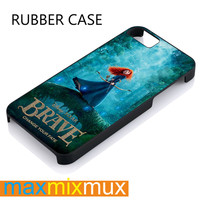 Disney Merida Brave iPhone 4/4S, 5/5S, 5C, 6/6 Plus Series Rubber Case