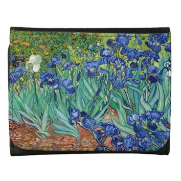 Irises Vincent van Gogh Painting Wallet