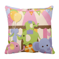 Customized Baby Circus Pillow