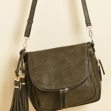 On Your Carry Way Bag in Moss | Mod Retro Vintage Bags | ModCloth.com