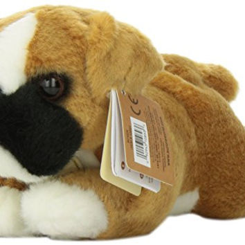 Aurora World Miyoni Boxer Dog Plush, 8""