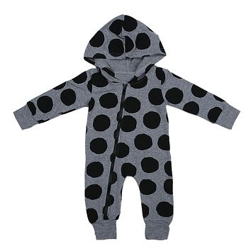 Baby Rompers Newborn Clothing Cotton Long Sleeve Jumpsuits Boys Girls Outerwear Costume