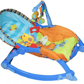 Trampoline rocker three development modes