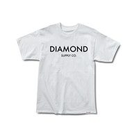 Diamond Classic Tee in White